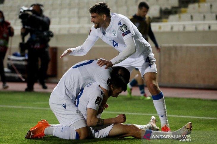 Kualifikasi Piala Dunia:  Slovenia terpeleset di Siprus