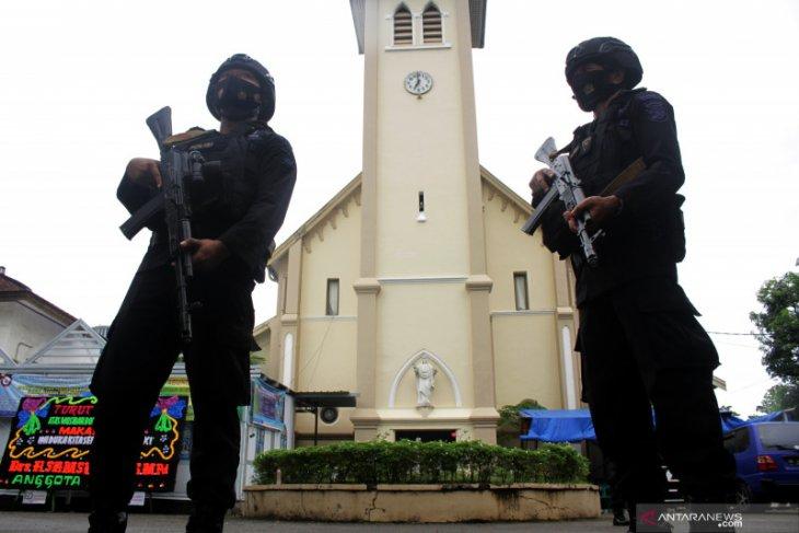 Polisi jamin peringatan wafat Yesus Kristus di Gresik berjalan aman