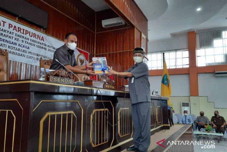 LKPj bupati Kotabaru 2020, empat kali refocusing