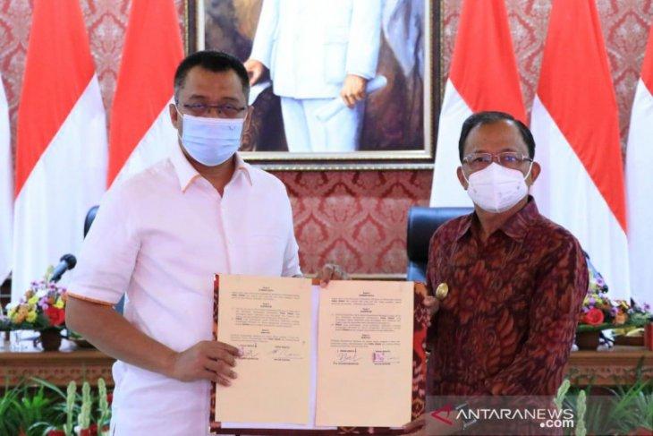 Gubernur Bali-NTB sepakati enam kerja sama pembangunan daerah