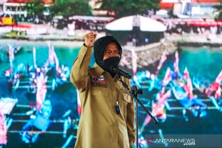 Mensos Risma mengaku menjadi saksi Tagana hadir nyata di masyarakat