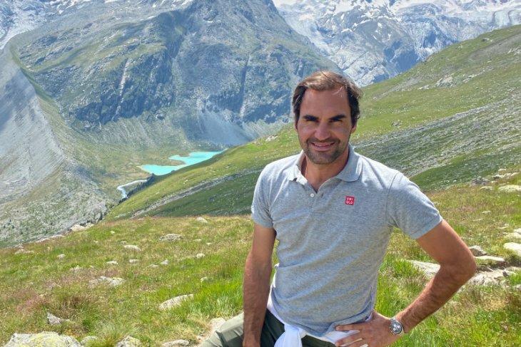 Bintang tenis ganteng  Roger Federer digandeng promosikan pariwisata Swiss