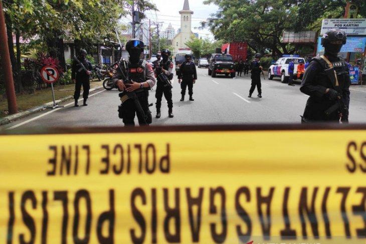 Melawan saat hendak diamankan polisi tembak mati terduga teroris