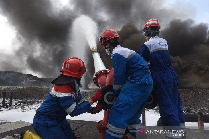 Polisi temukan unsur tindak pidana dalam kebakaran Kilang Pertamina Balongan