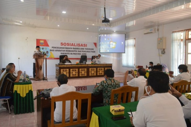 Bupati Merangin buka sosialisasi bahaya radikalisme-terorisme