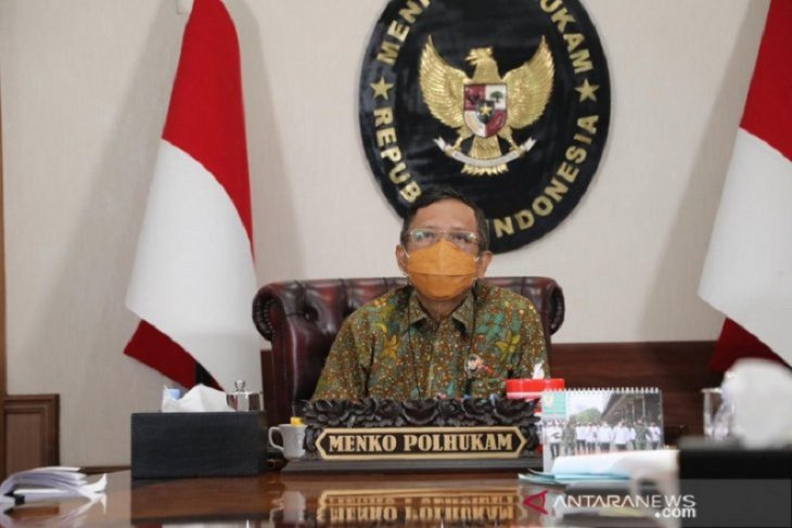 Menko Polhukam  jelaskan KPK tak dilibatkan dalam Satgas BLBI