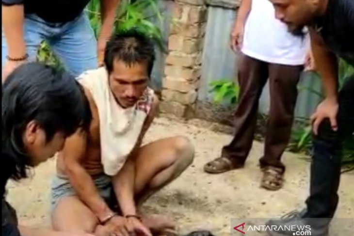 Polres Bangka Selatan gerebek rumah pengedar narkoba