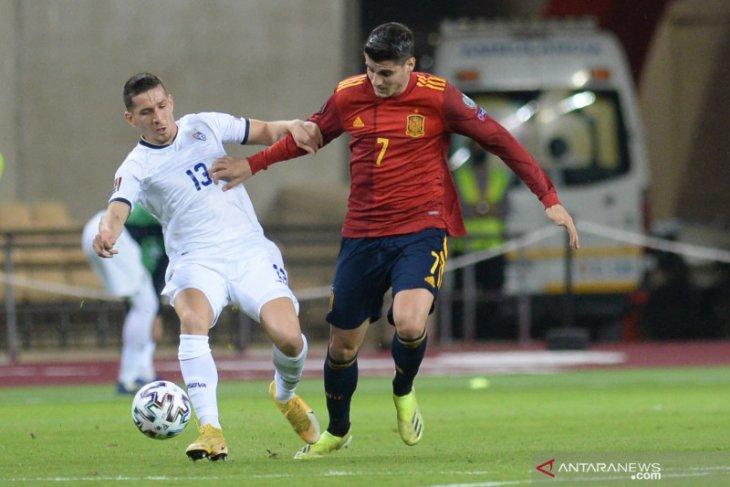 Spanyol puncaki Grup B setelah tekuk Kosovo 3-1