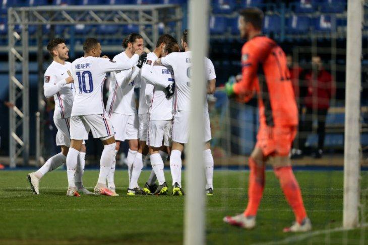 Gol Griezmann bawa Prancis kalahkan Bosnia