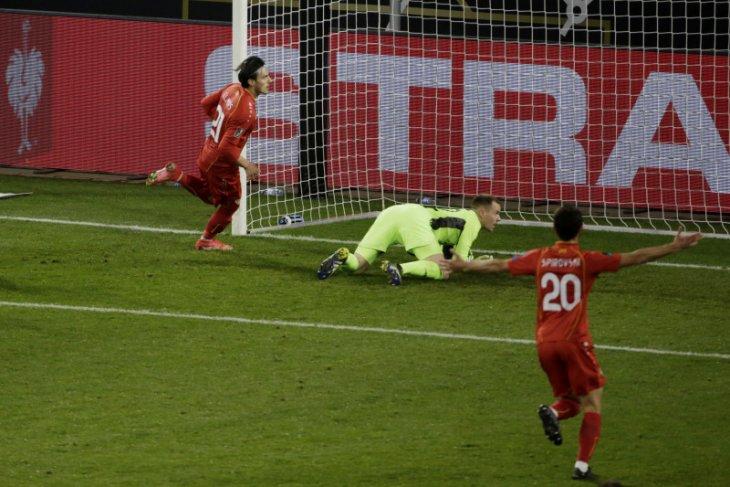 Kejutan, Jerman tumbang 1-2 di tangan Makedonia Utara