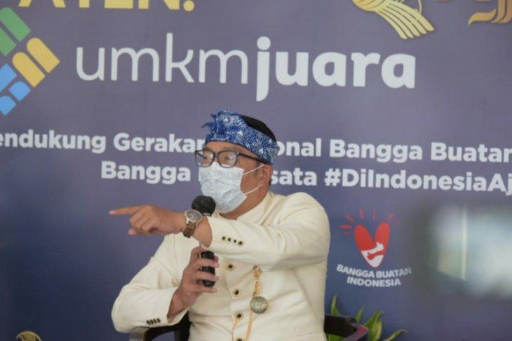 Gubernur Jawa Barat: Belanja UMKM wujud bela negara