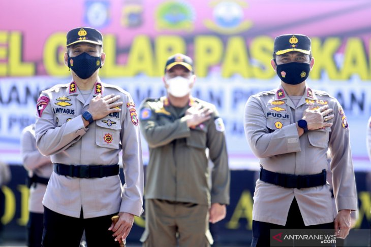 600 Personel Polri-TNI siap amankan Paskah di Gorontalo