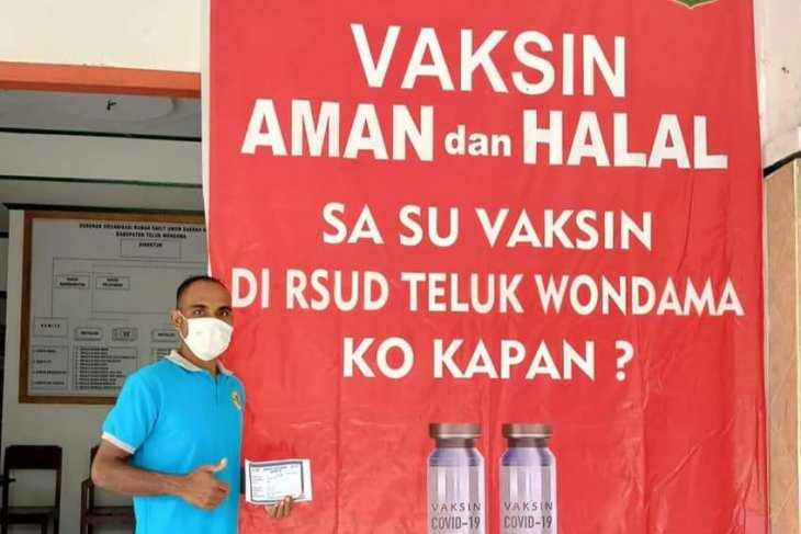 700 vaccine doses secured for West Papua's Teluk Wondama teachers