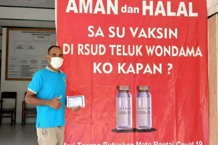 Pemkab Wondama sediakan 700 dosis vaksin bagi guru