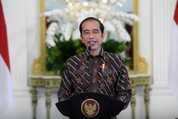 Presiden katakan keterbukaan informasi faktor penting penanganan pandemi