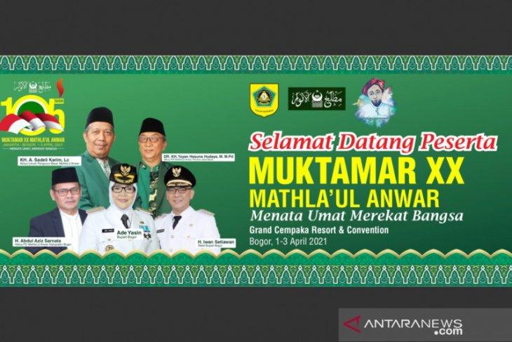 Muktamar ke-20 Mathla'ul Anwar akan dibuka Presiden dan ditutup Wapres