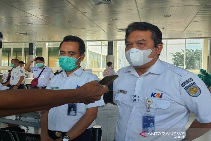 KAI Sumut gelar vaksinasi COVID-19 untuk tingkatkan kepercayaan penumpang