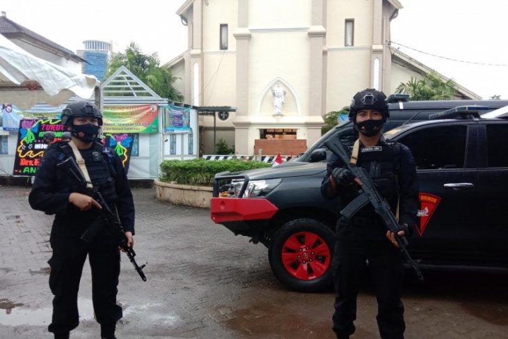 Polisi: Terduga teroris ditembak hendak serang polisi dengan parang