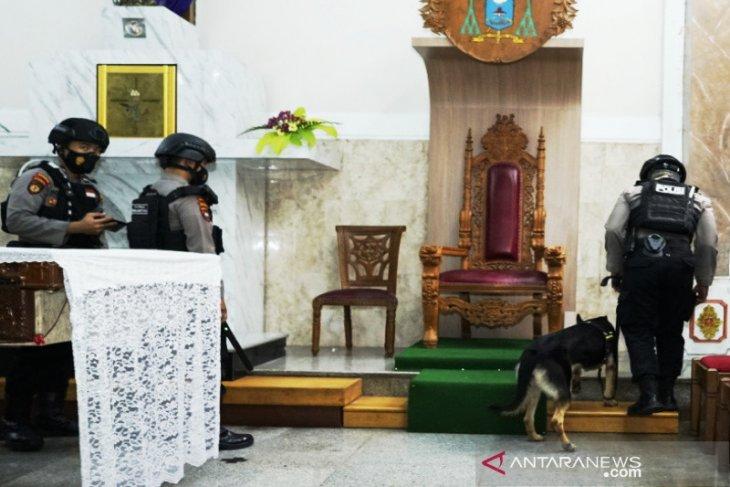 Polresta Banjarmasin sterilisasi sembilan gereja jelang Paskah