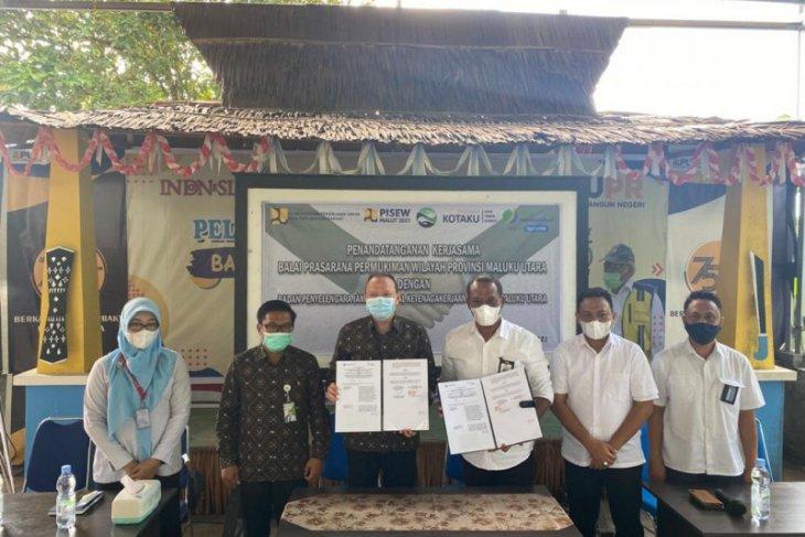 BPJAMSOSTEK Ternate  - BPPW  Malut kerja sama lindungi tenaga pemberdayaan