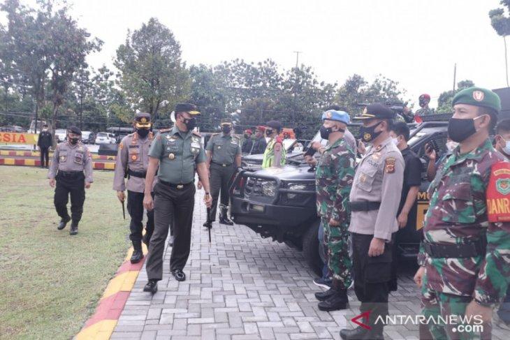 1.100 personel gabungan Polri-TNI amankan Kota Bogor