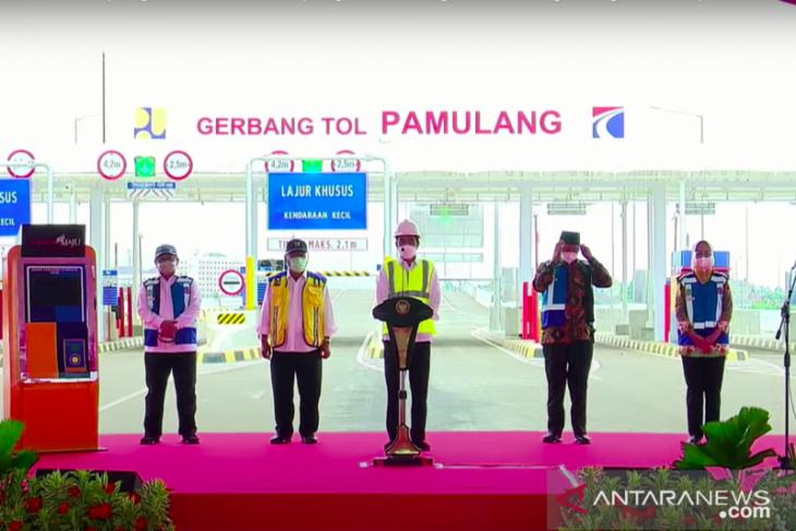 Jokowi: Warga Tangerang, Jabar, Jakarta punya akses baru ke Soetta
