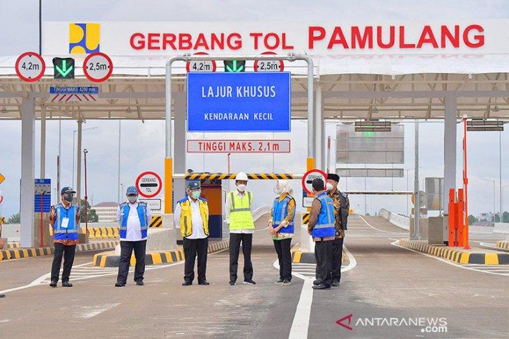 Wali Kota Tangsel harap Tol Serpong-Pamulang dorong tingkatkan ekonomi daerah