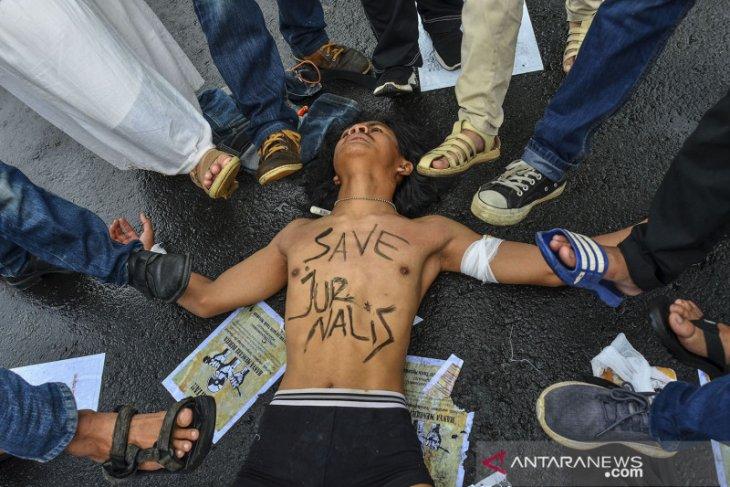 Deretan kekerasan terhadap wartawan selama tahun ini di Sumut