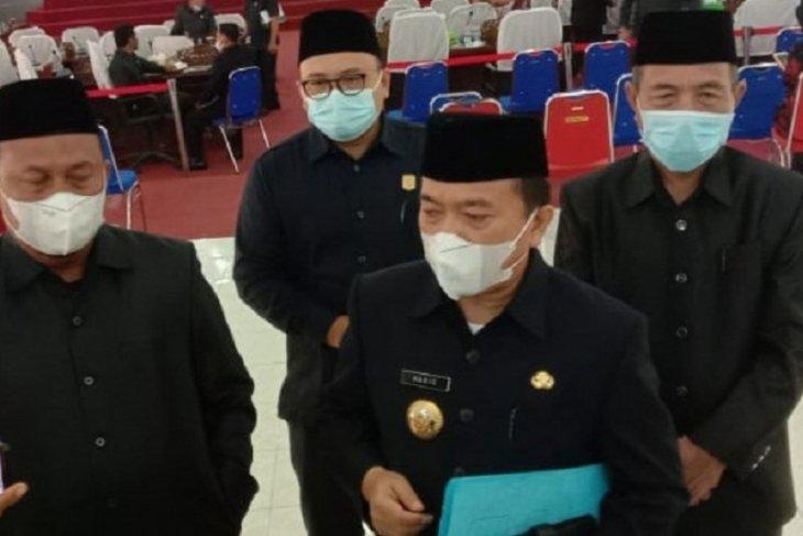 Bupati Al Haris minta pendapat dan saran legislator