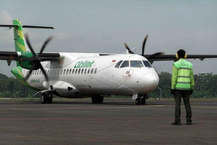 Uji coba penerbangan di Bandara Jenderal Besar Soedirman