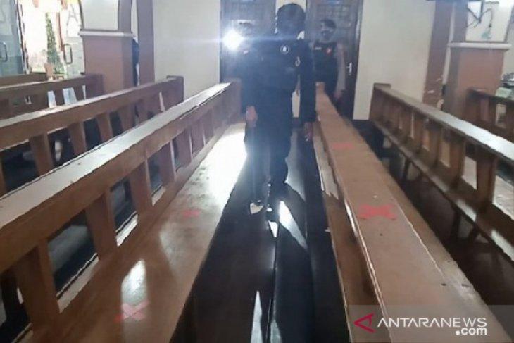 Polres Madiun Kota sisir gereja antisipasi gangguan perayaan Paskah