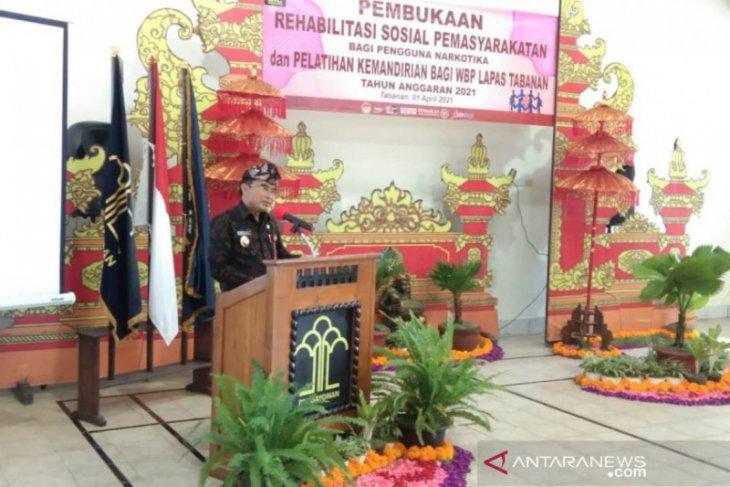 Pemkab Tabanan andalkan program rehabilitasi untuk pengguna narkotika