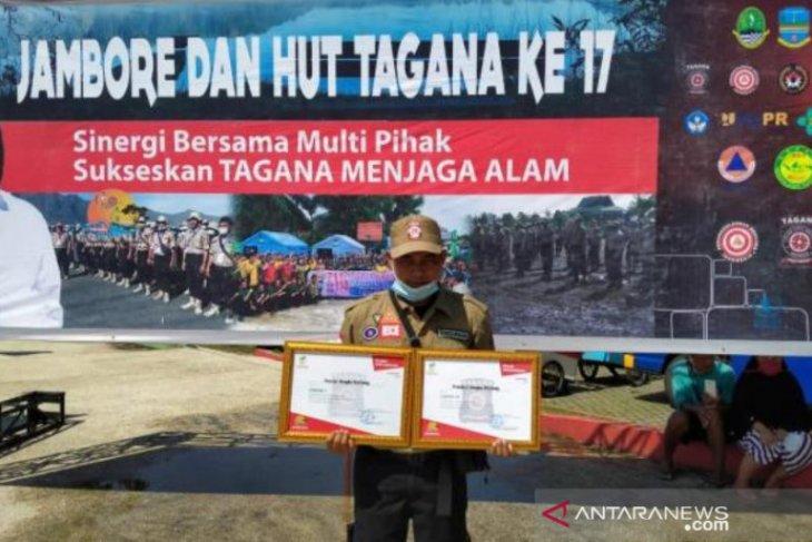 Tagana Babel raih juara di dua kategori lomba Jambore Tagana tingkat nasional