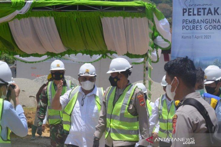Kapolda Gorontalo sebut penyediaan rusun tingkatkan kinerja anggota Polri