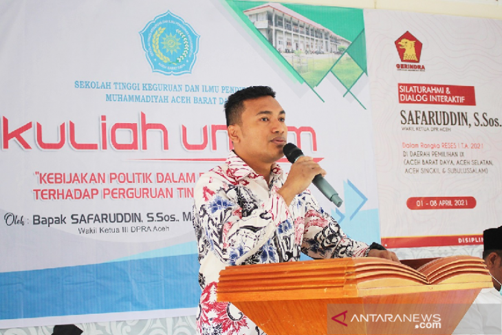 Safaruddin: Lemahnya pendidikan Aceh dipengaruhi kualitas pengajar