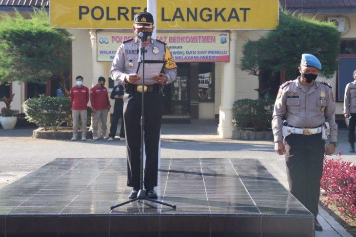 392 personel Polres Langkat diterjunkan pengamanan gereja