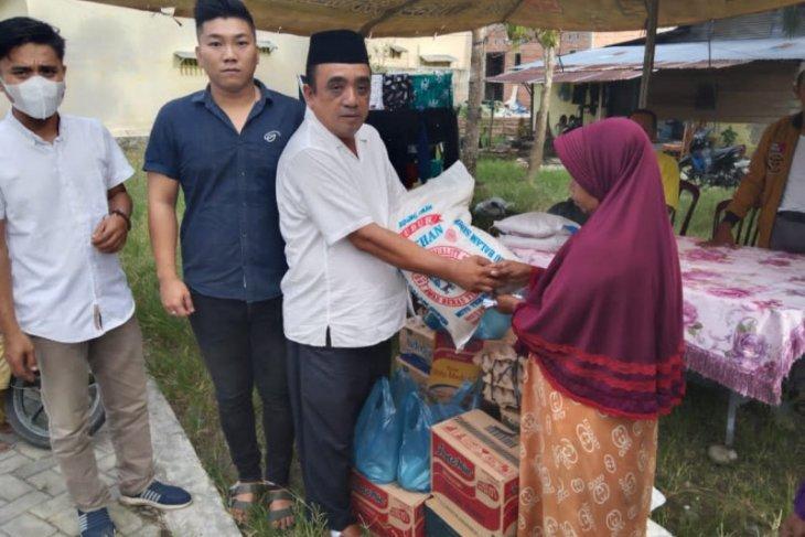 Partai Perindo Langkat bantu korban kebakaran Tanjung Pura
