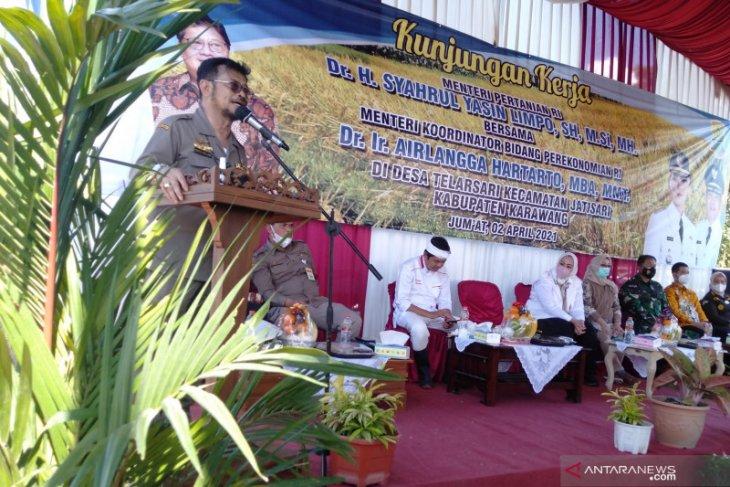 Jaga stok beras nasional, Kementan kawal panen dan penyerapan gabah secara maksimal