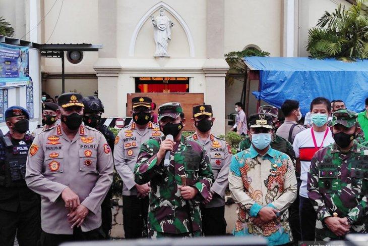 Panglima TNI dorong segera fungsikan Poskotis cegah gerakan teroris