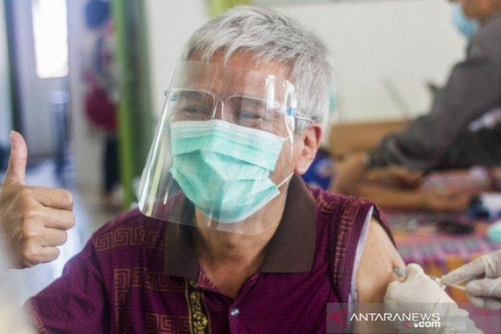 Sebanyak 8.629.182 penduduk di Indonesia sudah dapatkan vaksinasi