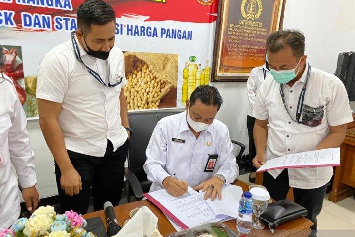 Polda-Dinas Pangan Jambi komitmen  kawal kelancaran distribusi pangan