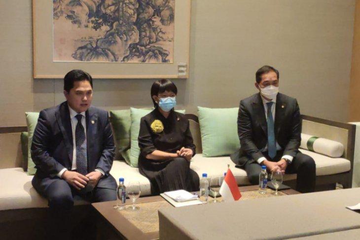 Erick Thohir bersama SASAC Tiongkok bahas peningkatan kerjasama BUMN