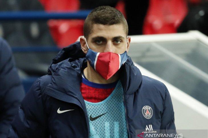 Verratti absen saat PSG hadapi Bayern karena terpapar COVID-19