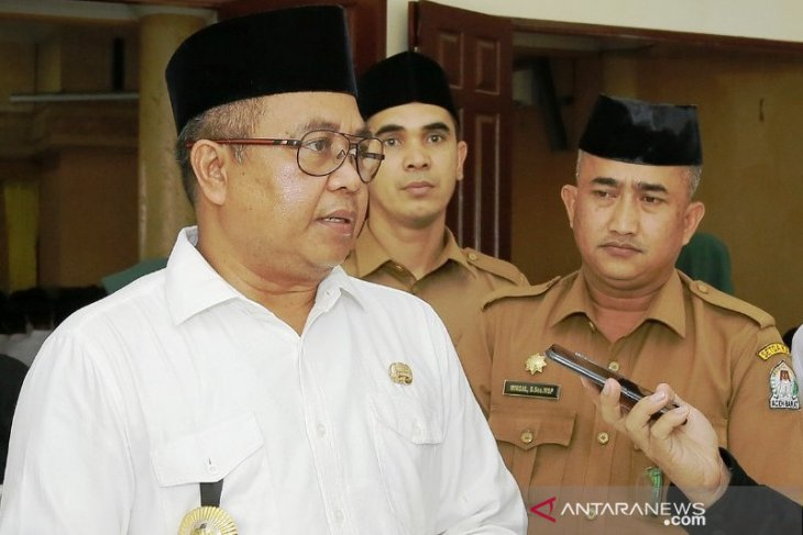 Bupati Aceh Barat Ramli MS maafkan dua tersangka pemeras terhadap dirinya