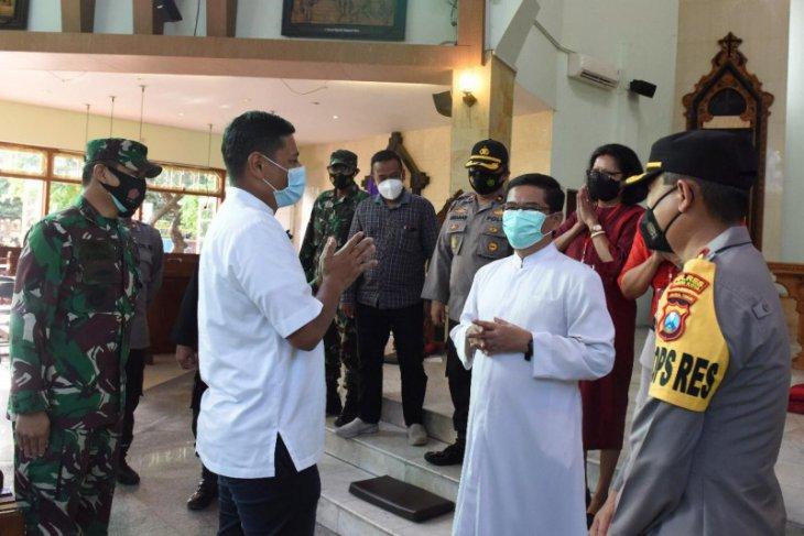 Wali Kota Kediri apresiasi pengamanan petugas di tempat ibadah
