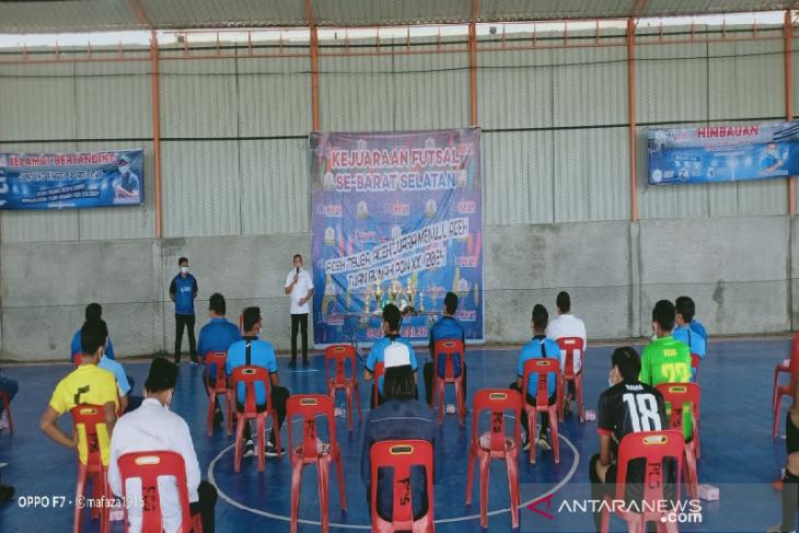 40 klub Abdya-Aceh Selatan ikuti turnamen futsal Irpannusir cub