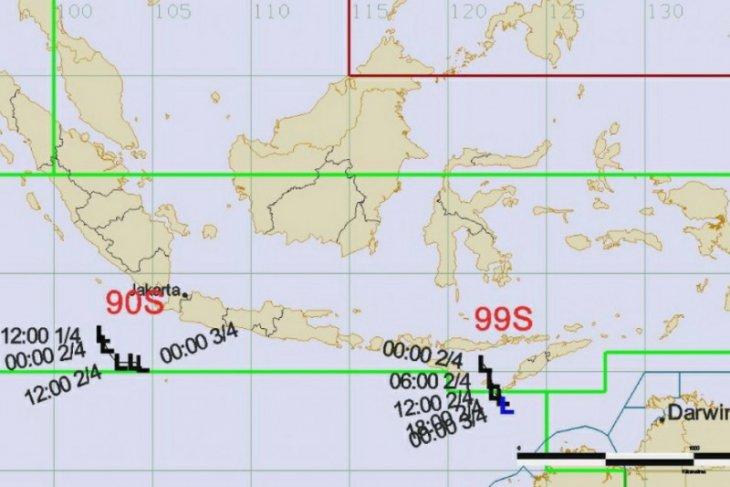Waspada, siklon tropis Seroja diperkirakan menguat 24 jam ke depan