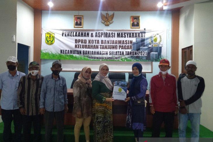 Reses DPRD Dapil Banjarmasin Selatan: sarana pendidikan di Tanjung Pagar masing minim