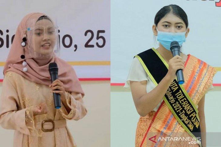 Dua siswa asal Gedangan terpilih sebagai Duta Toleransi Sidoarjo