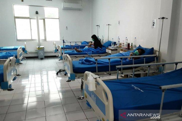 Pasien COVID-19 di RS Lapangan Kota Bogor terus menurun